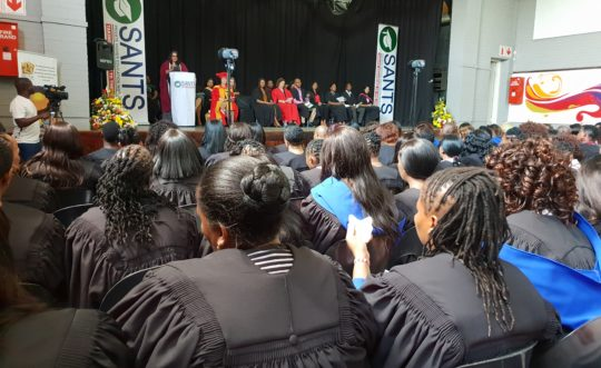 Qualification Ceremony: 255 Diploma in Grade R Teaching Graduated in Soweto, Gauteng.