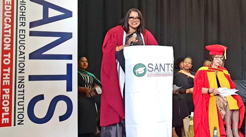 Qualification Ceremony: Dr Bipath, Keynote Speaker